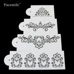 Stencils CN Princes Lace set 4ks (53042)