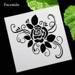 Stencils CN Valentine Rose 54060